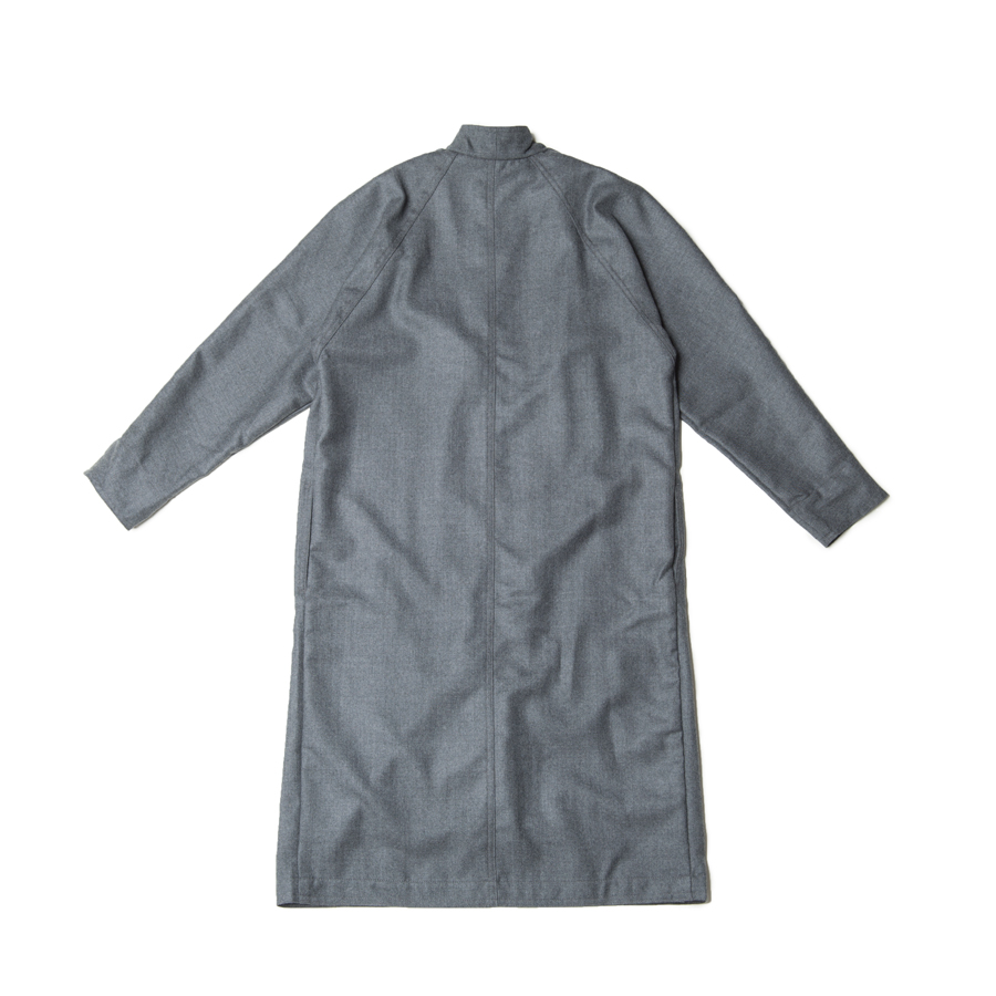 Vネックコート