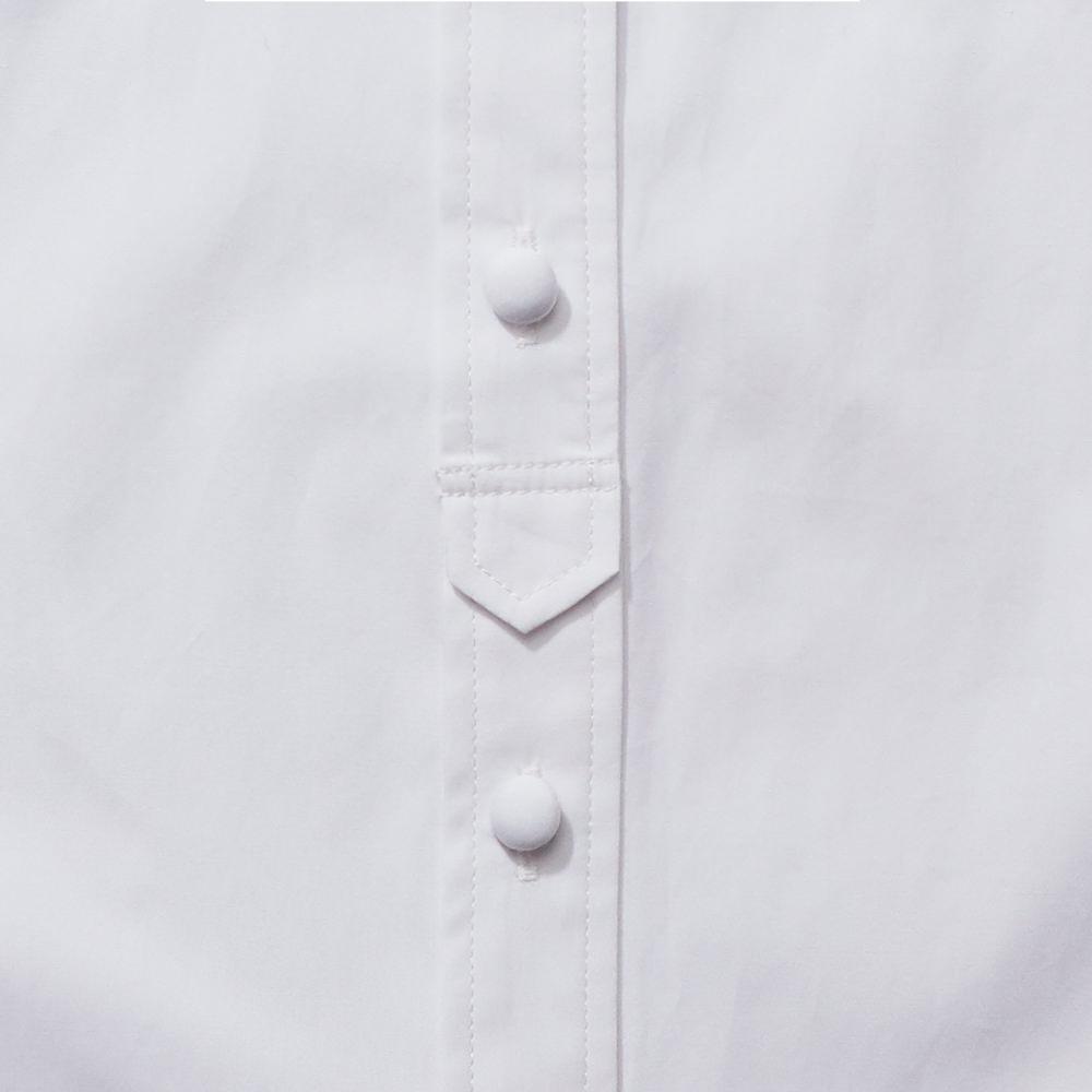 ハイネックシャツ ホワイト