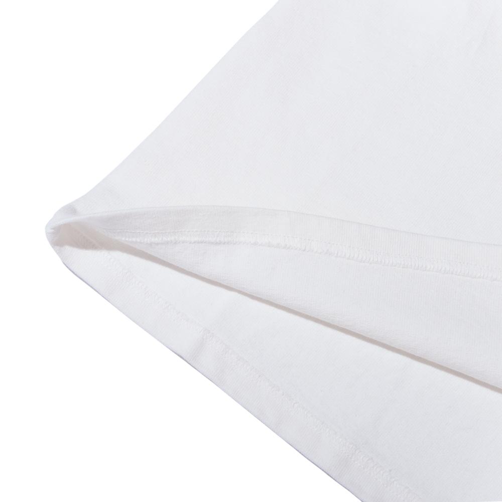 七分袖カットソー ホワイト