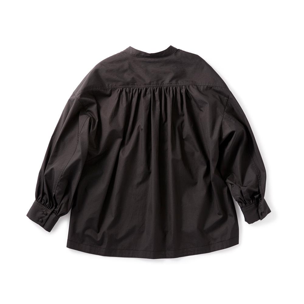 ボリュームシャツ ブラック