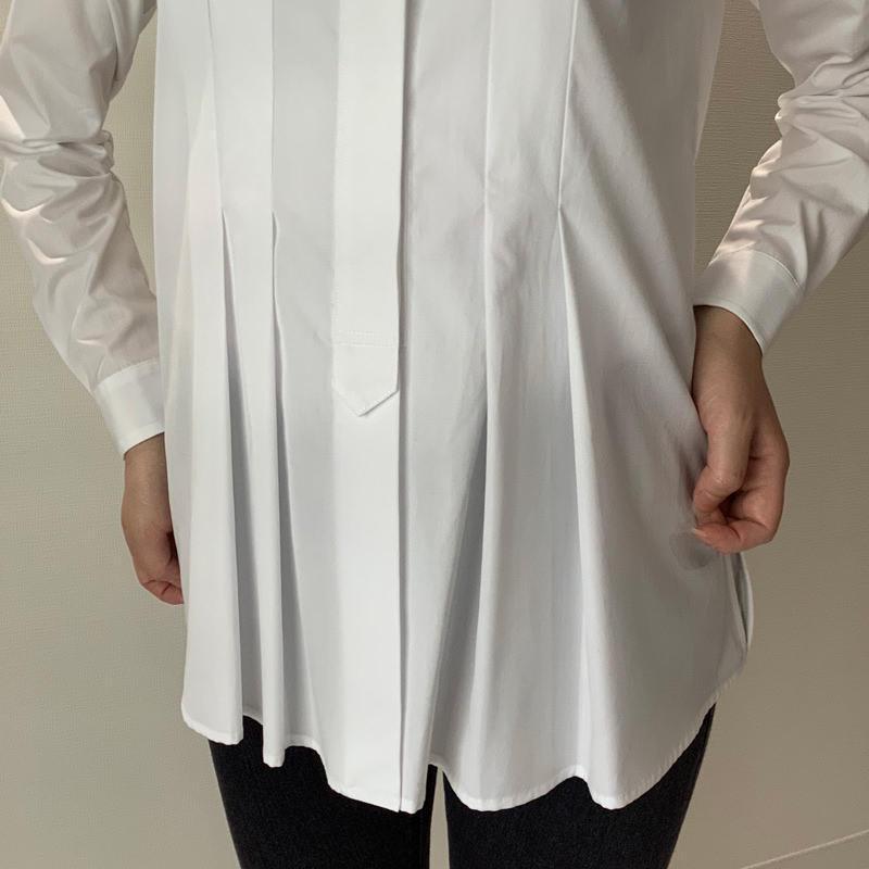 タックシャツ ホワイト