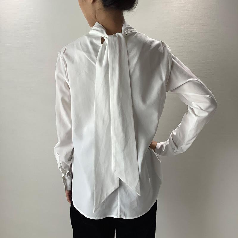 タイカラーシャツ ホワイト