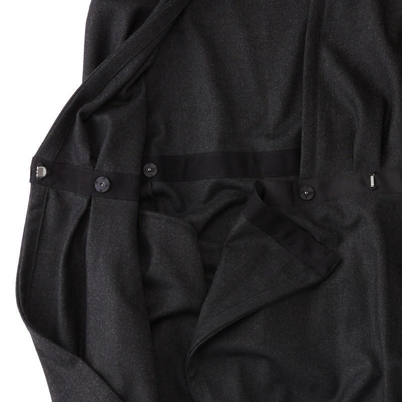 ジャンパースカート ブラック