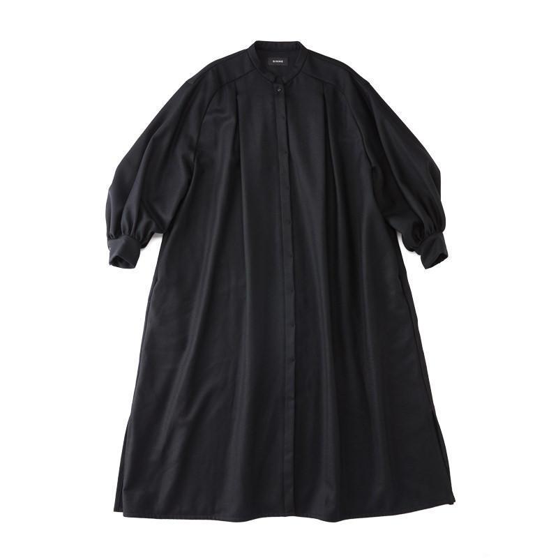 スモックドレス ブラック