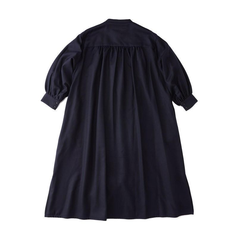 スモックドレス ネイビー