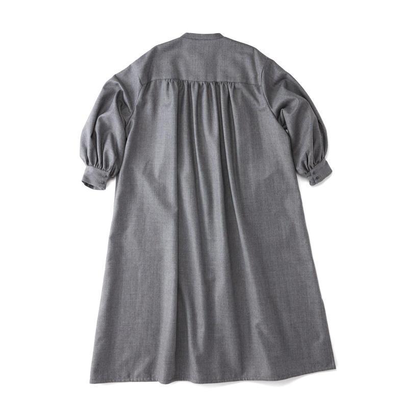 スモックドレス グレー