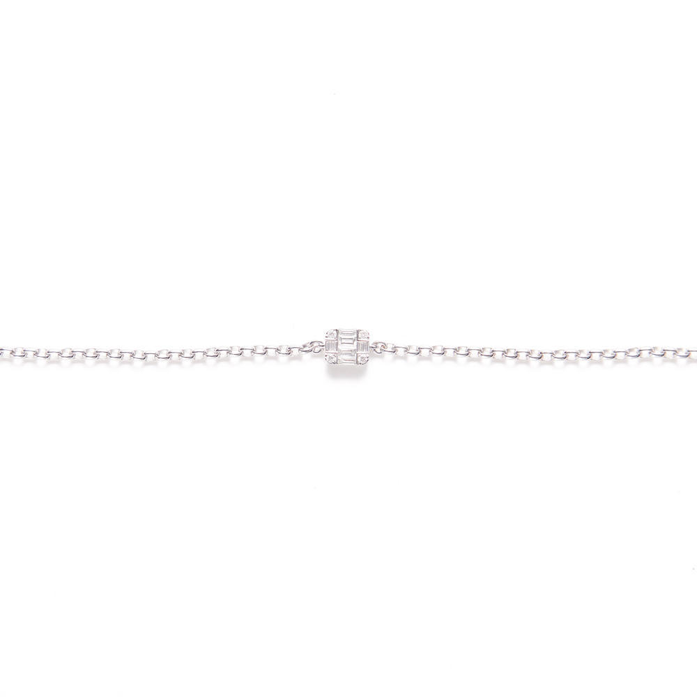 SINME DIAMOND - Square Bracelet